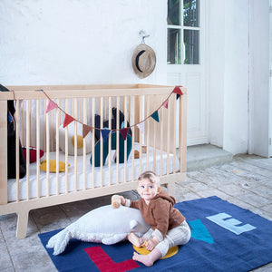 Buy Modern Nursery Sparrow Crib in Toronto Canada -  Room Setting