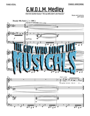 The Guy Who Didn't Like Musicals - Sheet Music - StarKid Homecoming Medley