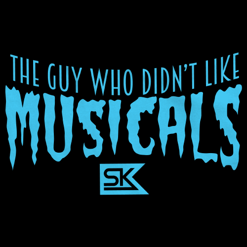 The Guy Who Didn't Like Musicals – Logo T-Shirt