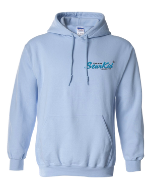 StarKid – Retro Logo Light Blue Hoodie