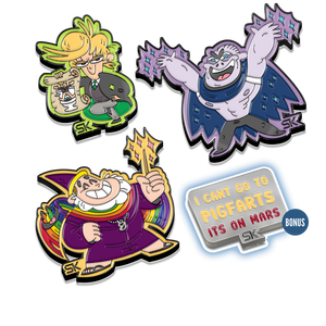 A Very Potter Musical – Enamel Pin Set (Pindemonium Pack 3)