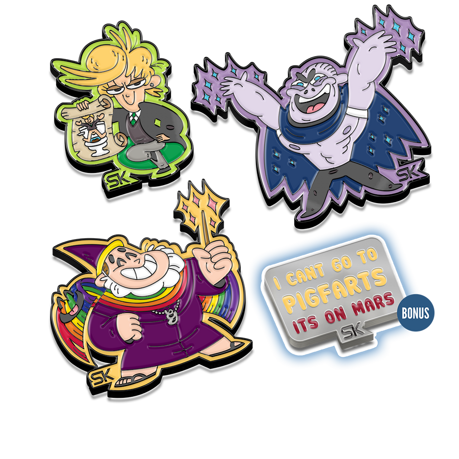 A Very Potter Musical – Big D Enamel Pin (Pindemonium Pack 3)