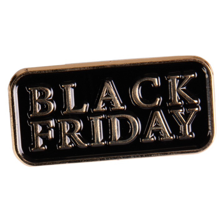 Black Friday - Logo Enamel Pin