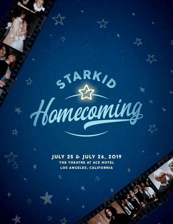 StarKid Homecoming Souvenir Program