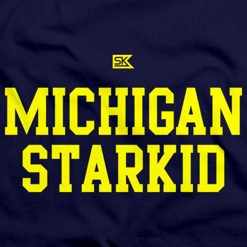 Michigan Starkid Navy art preview