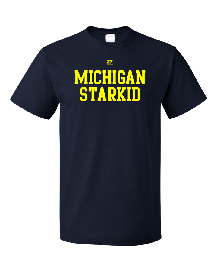 Standard Navy Michigan Starkid T-shirt