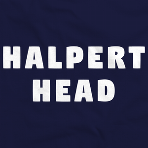 Movies, Musicals, and Me - Halpert Head Navy Art Preview