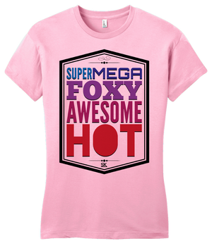 Girly Pink StarKid A Very Potter Musical Supermegafoxyawesomehot T-shirt