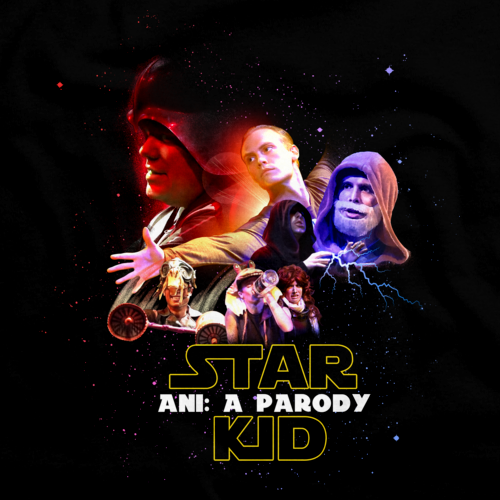Ani Movie Poster T Shirt Starkid Productions Official Webstore