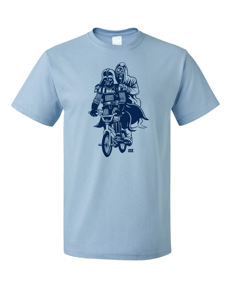 "Standard Light Blue StarKid Ani ""Dark Ride""  T-shirt"