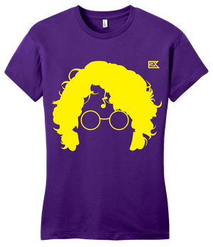 Girly Purple StarKid AVPM Profile Tee T-shirt