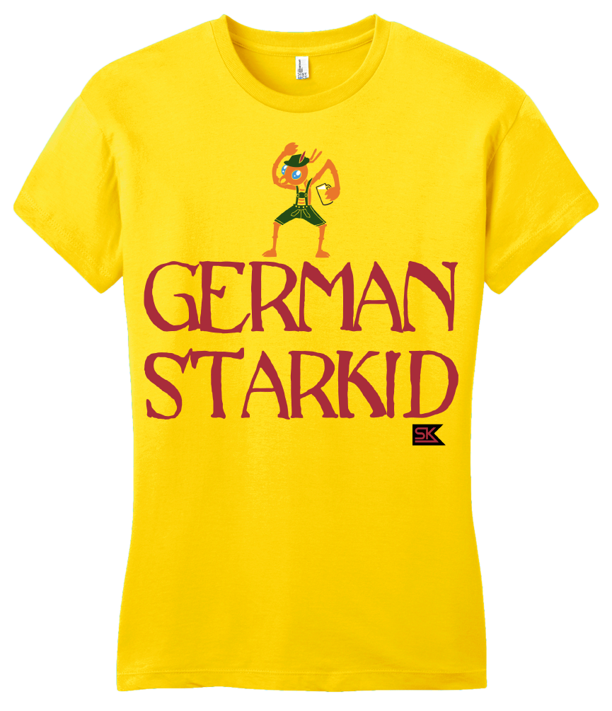 Girly Yellow StarKid GERMAN STARKID T-shirt