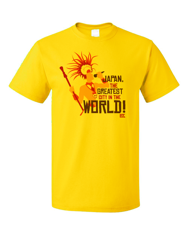 Unisex Yellow Apocalyptour Margaret Greatest City T-shirt