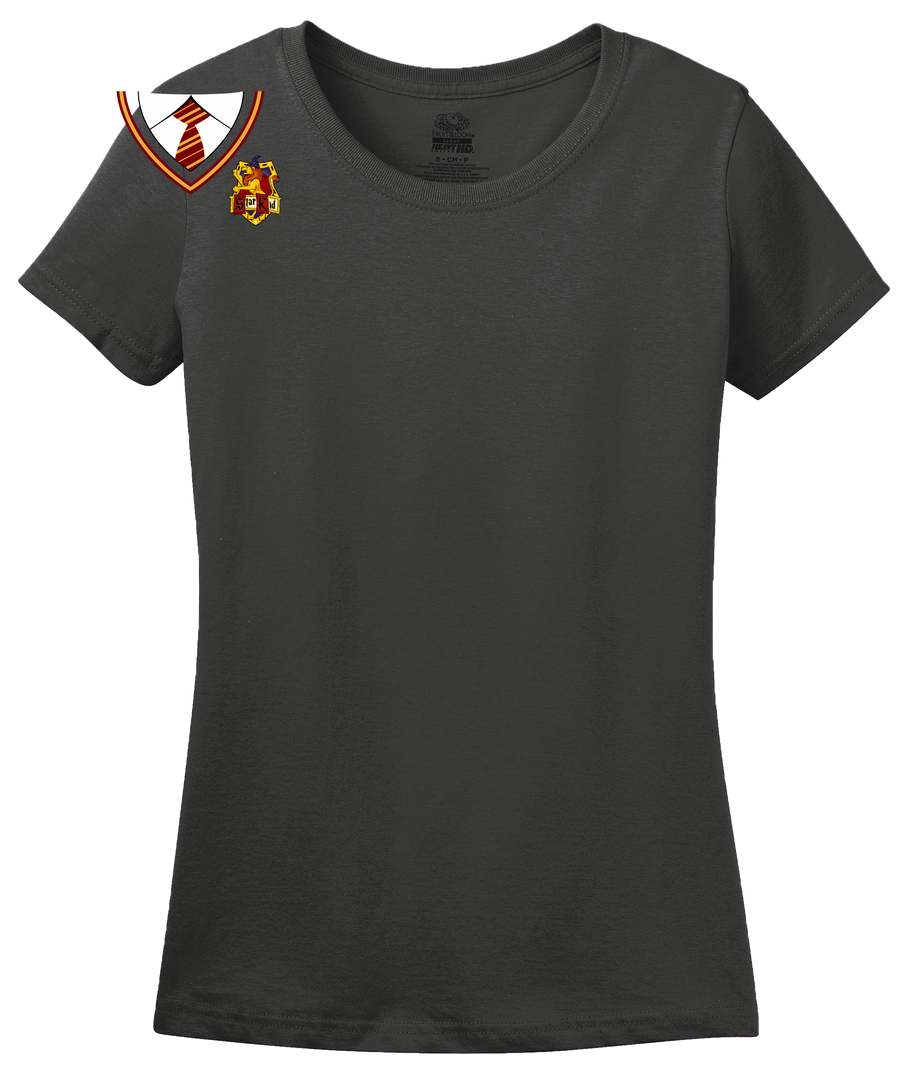 Ladies Charcoal Starkid House Tee T-shirt
