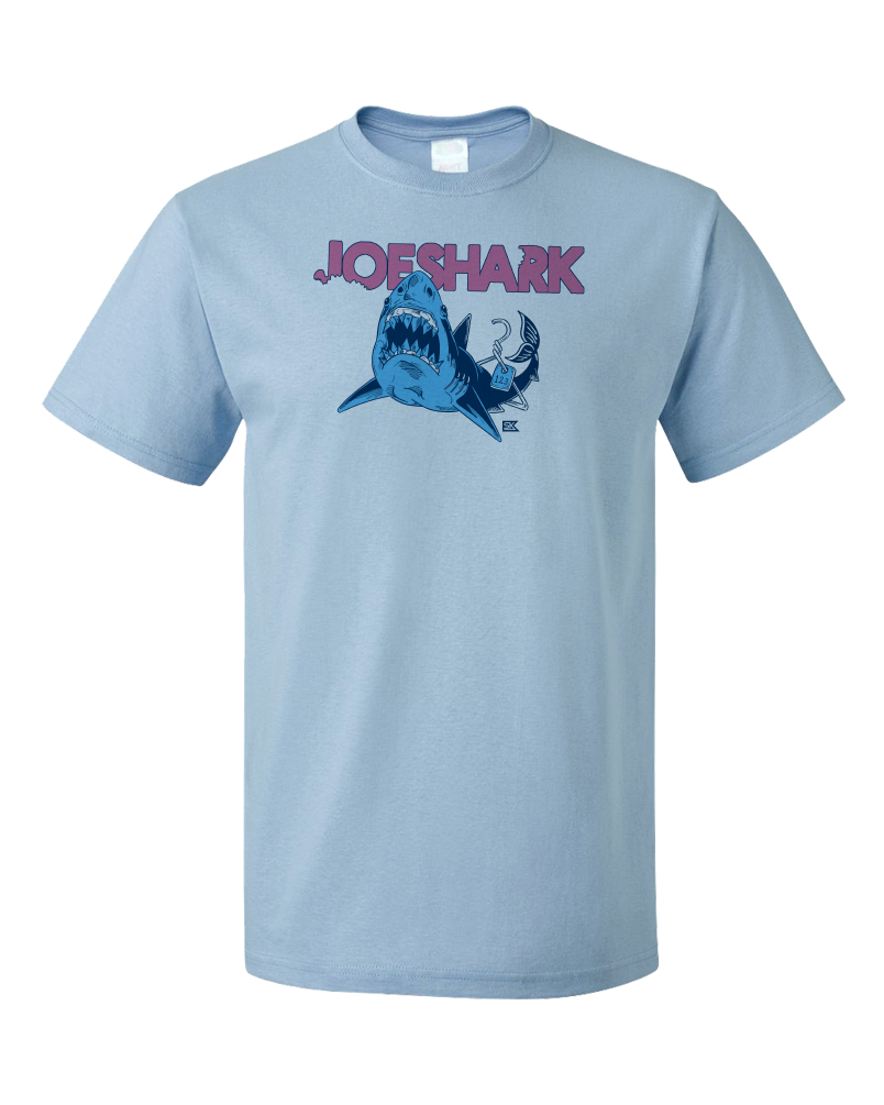 Standard Light Blue StarKid Joeshark Tee from 1-2-3-Ever T-shirt