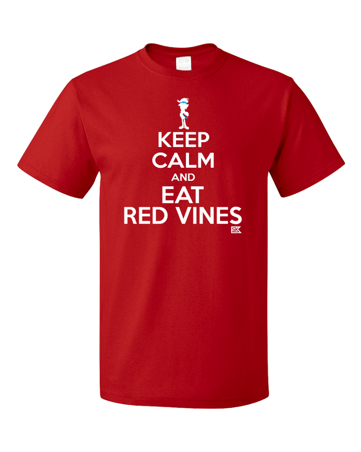 Standard Red StarKid Keep Calm and Eat Red Vines T-shirt