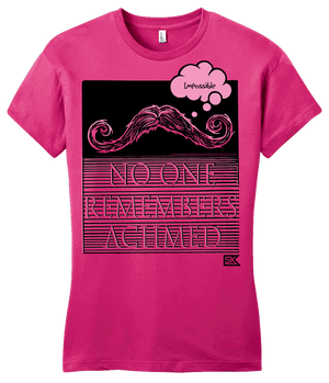 Girly Hot Pink StarKid Twisted Nobody Remember's Achmed T-shirt