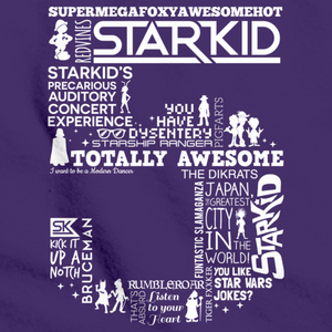 StarKid 5th Anniversary Hoodie Purple art preview