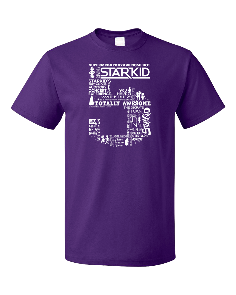 Standard Purple StarKid 5th Anniversary Hoodie T-shirt
