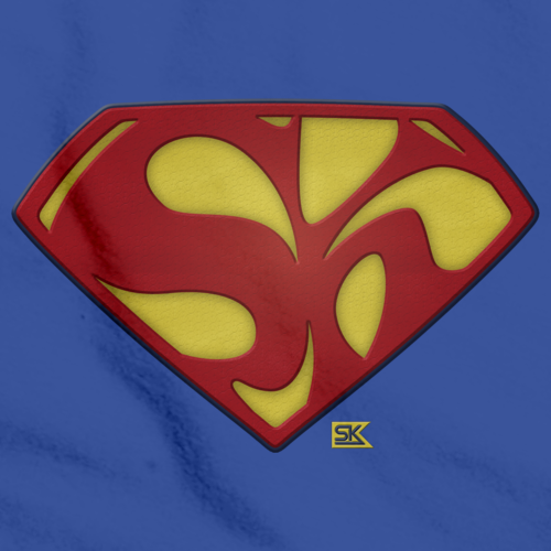 Starkid Superman Logo Royal Blue art preview