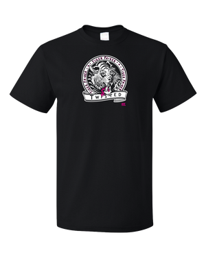 Standard Black StarKid Twisted Tiger Lover T-shirt