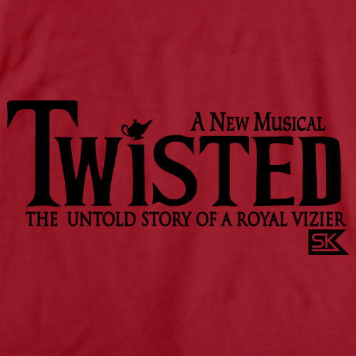 StarKid Twisted Logo Pullover Hoodie Red art preview