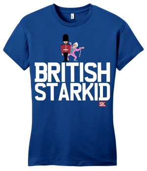 Girly Royal StarKid BRITISH STARKID T-shirt