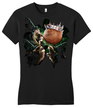Girly Black StarKid 3 Rumbleroar Mars T-shirt