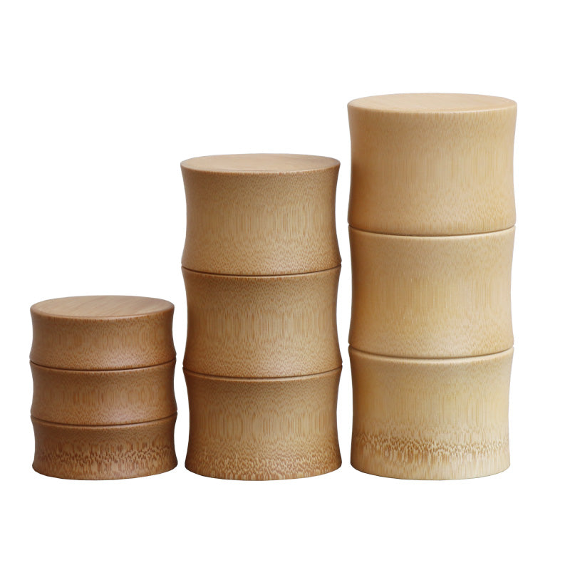 Bamboo Multi-Use Kitchen Jars