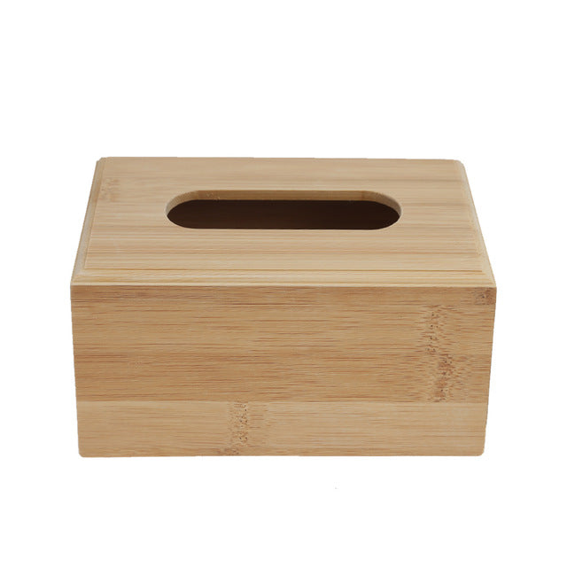 Bamboo Tissue Dispenser