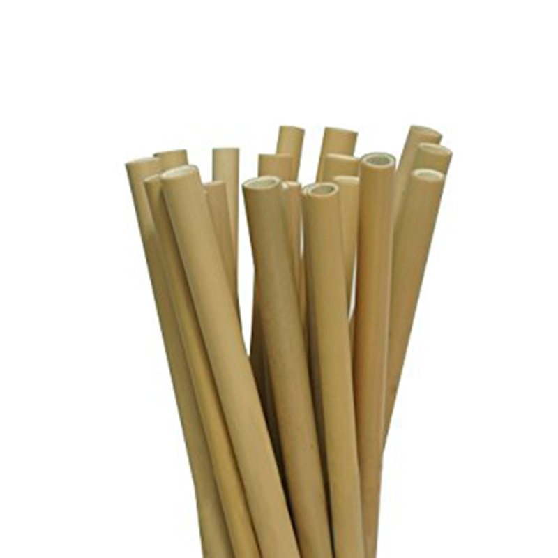 Bamboo Reusable Drinking Straws (4 pack)