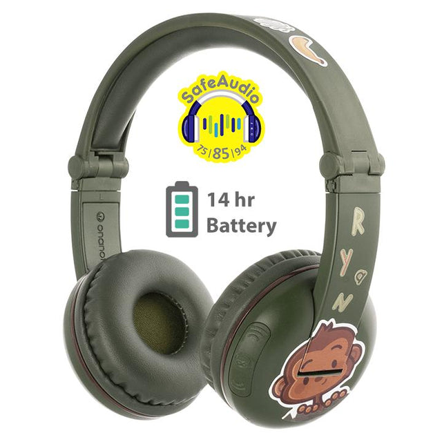 BuddyPhones PLAY Wireless Bluetooth Kids Headphone