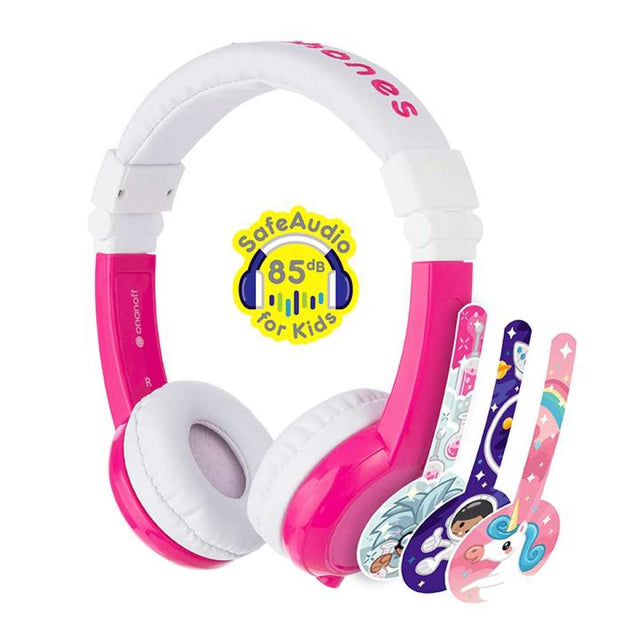 BuddyPhones Explore Foldable Bluetooth Kids Headphone