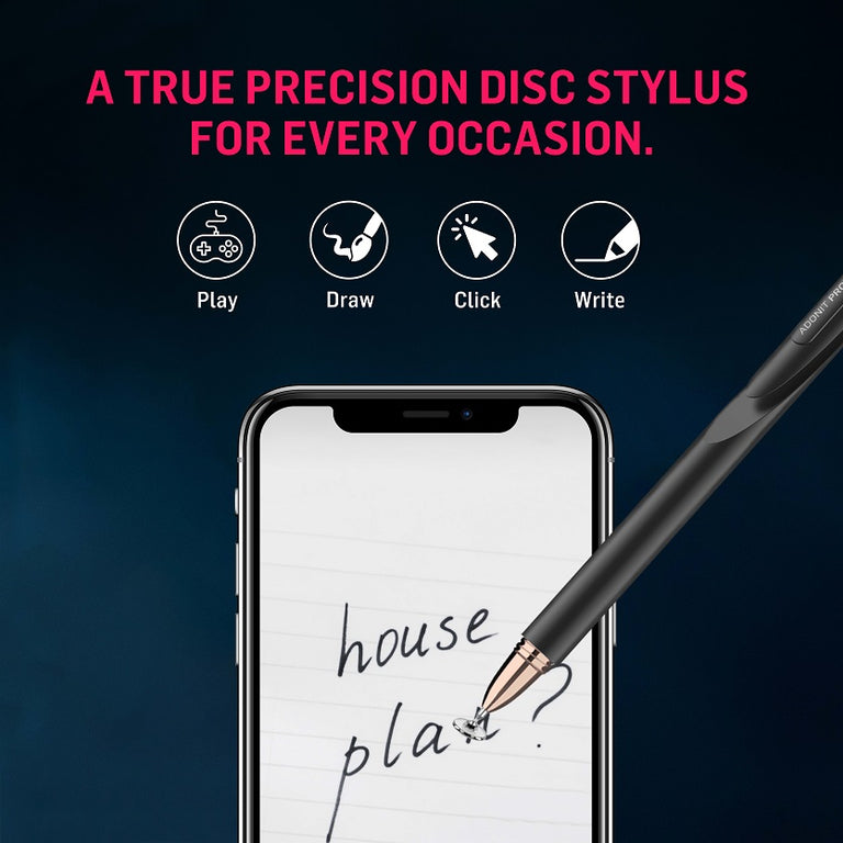 Adonit Pro 4 Fine Point High - Precision Disc Stylus