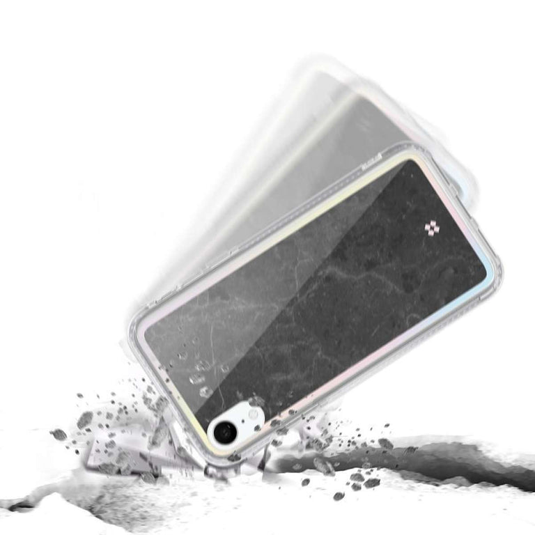 CaseStudi Prismart Iphone Case For iPhone XR - Marble Black
