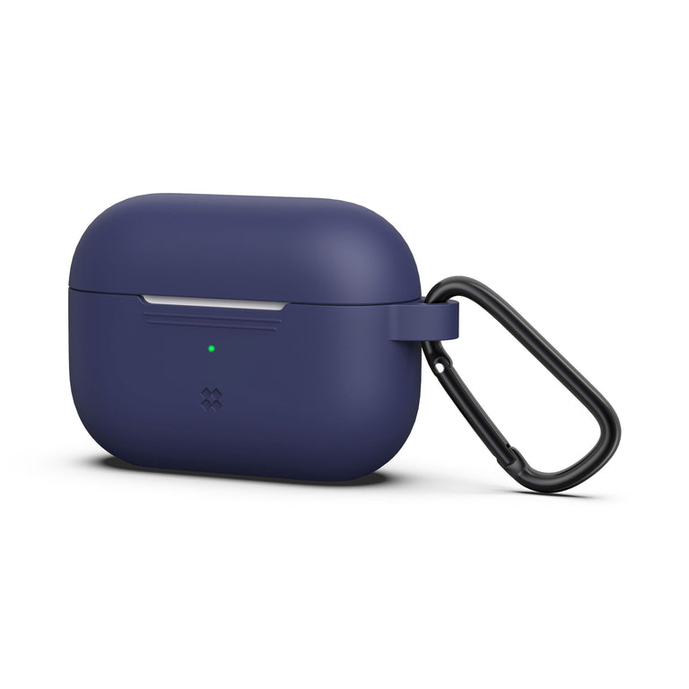 CaseStudi Ultraslim Airpod Pro Case - Navy (with carabiner)