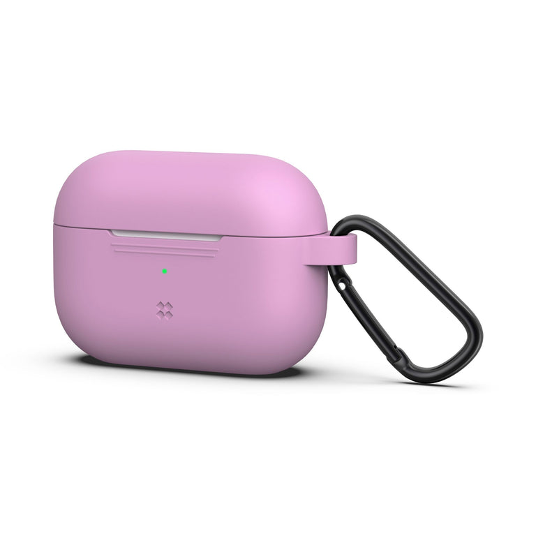 CaseStudi Ultraslim Airpod Pro Case - Pink (with carabiner)