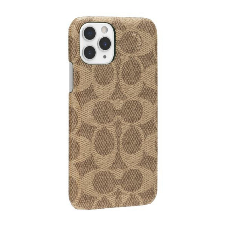 Coach New York Phone Case iPhone 11 - Slim Wrap Signature C Khaki