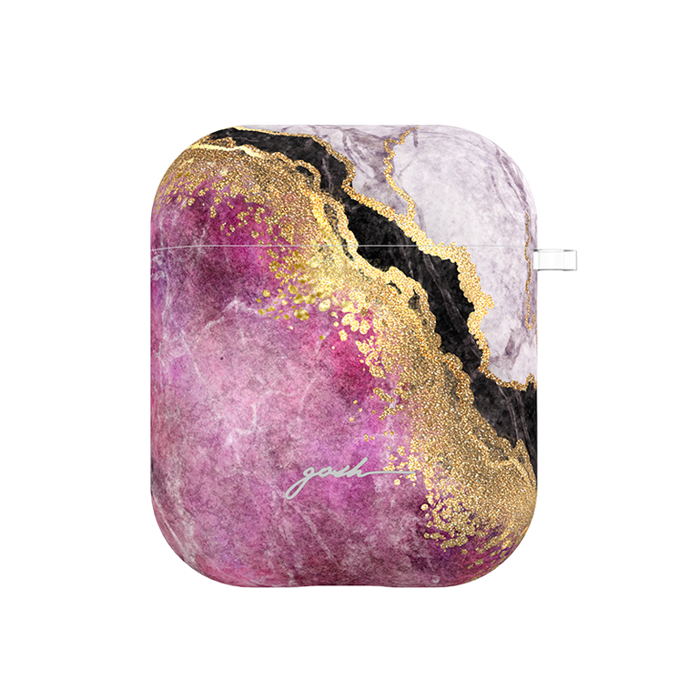 GOSH AIRPODS CASE - PINK CREVICE