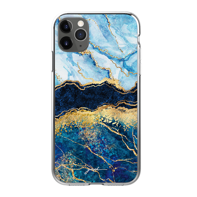 GOSH IPHONE 11 PHONE CASE - BLUE ABLAZED
