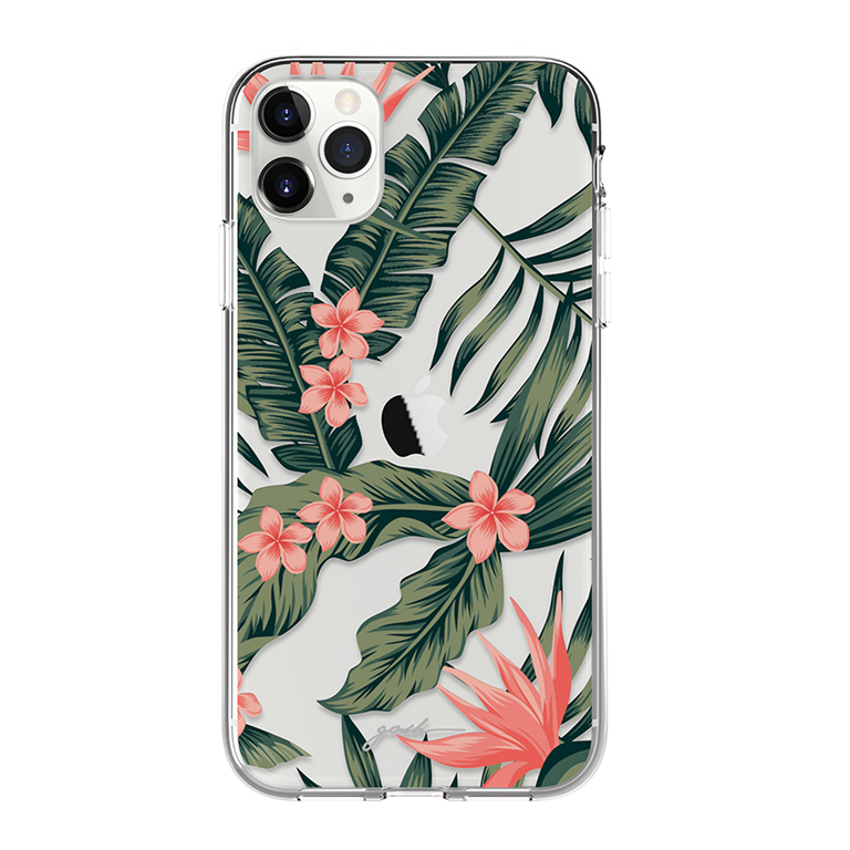 GOSH IPHONE 11 PHONE CASE - TROPICAL FLORA