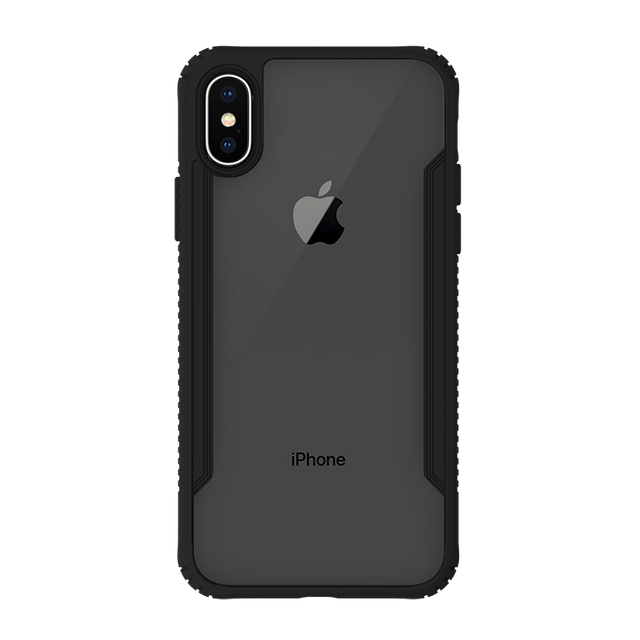 Gosh Glass Hybrid Iphone Case For iPhone X - Black