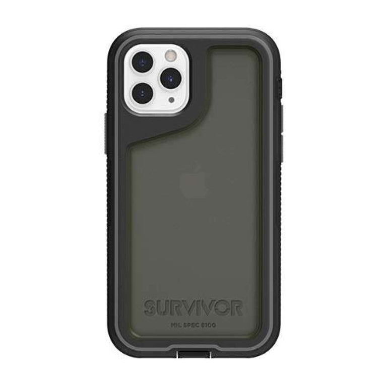 Griffin Survivor Extreme Phone Case iPhone 11 - Black/Grey/Smoke