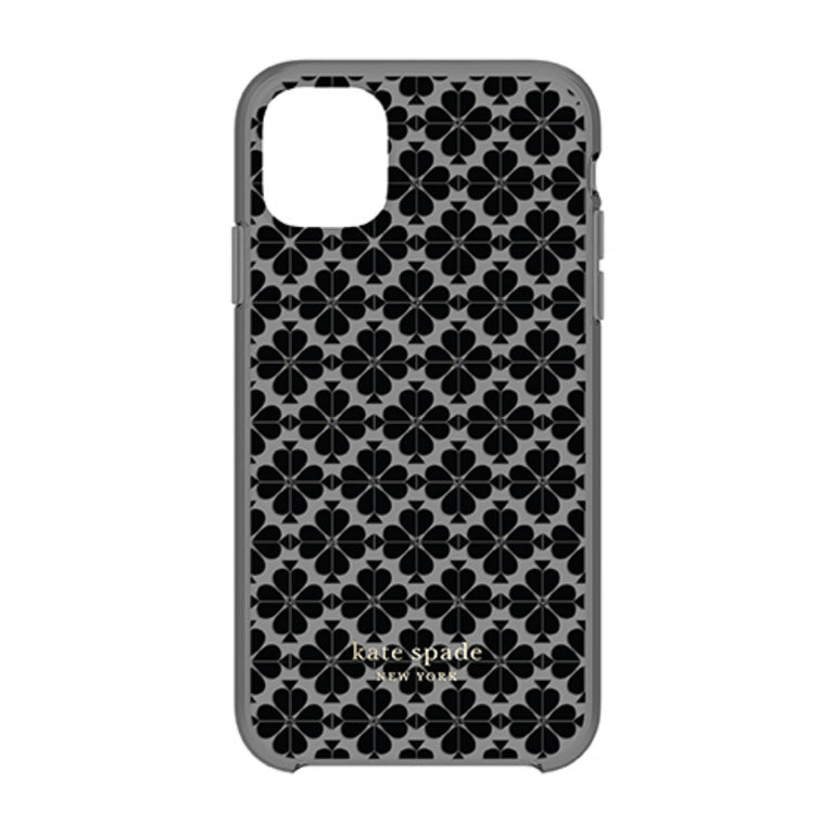 Kate Spade New York Phone Case iPhone 11 - Spade Flower Tonal