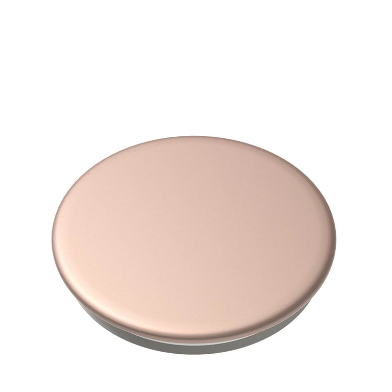 PopSockets Swappable PopGrips Aluminum Rose Gold