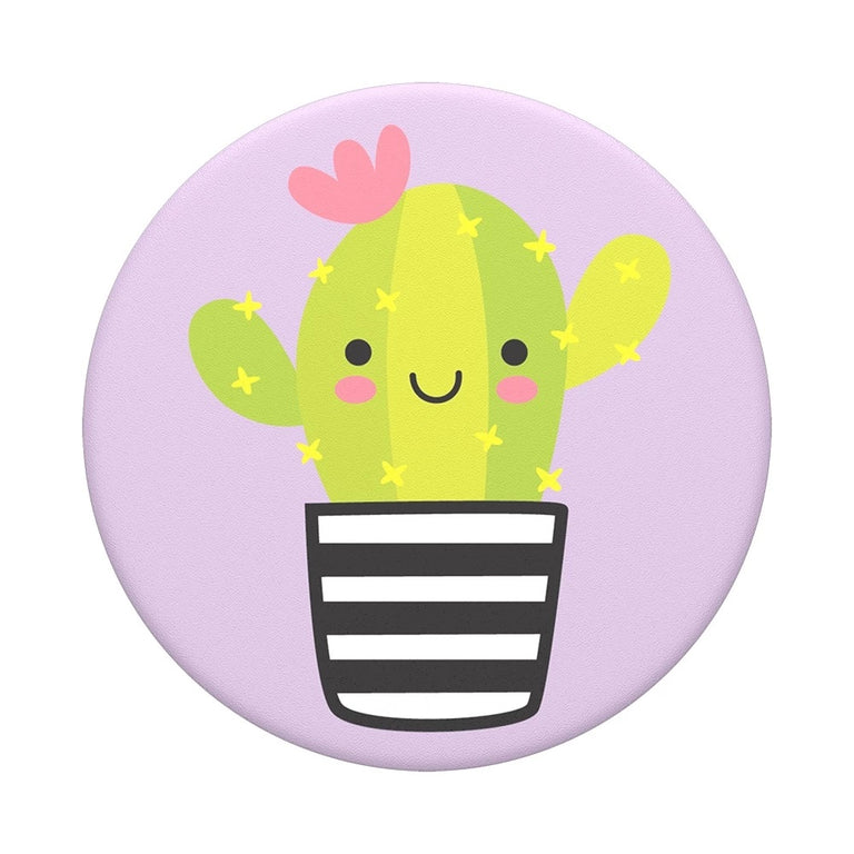 PopSockets Swappable PopGrips Cactus Pal