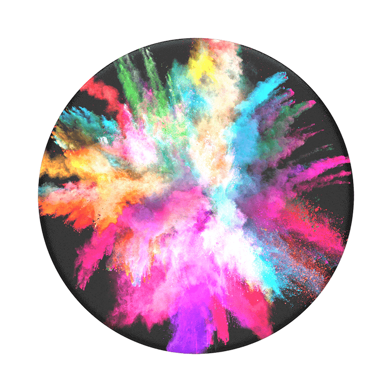 PopSockets Swappable PopGrips Color Burst Gloss