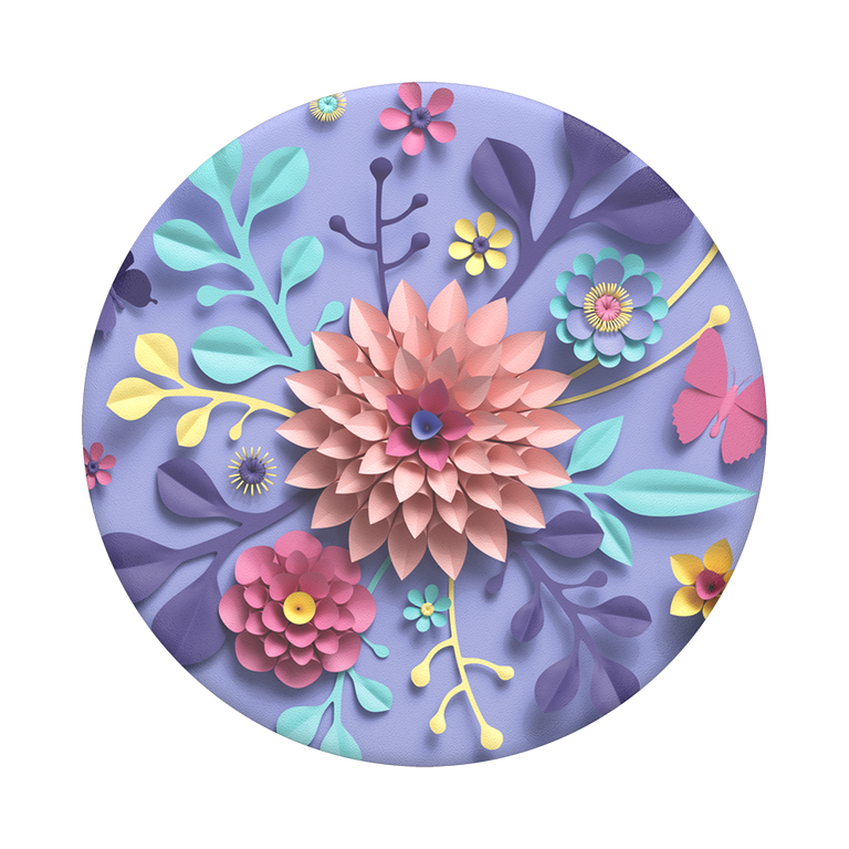 PopSockets Swappable PopGrips Craft Flowers