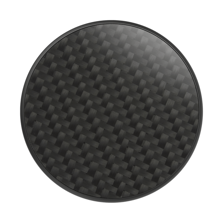 PopSockets Swappable PopGrips Genuine Carbon Fiber