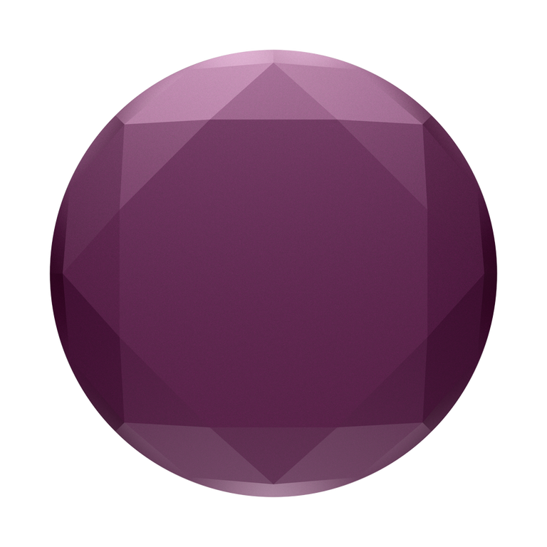 PopSockets Swappable PopGrips Metallic Diamond Mystic Violet